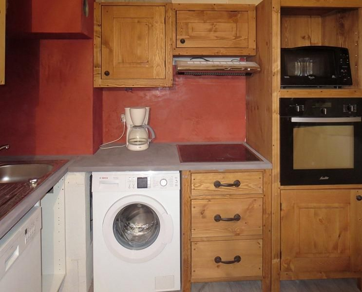 Open keuken  Appartement 124 Les Arcs