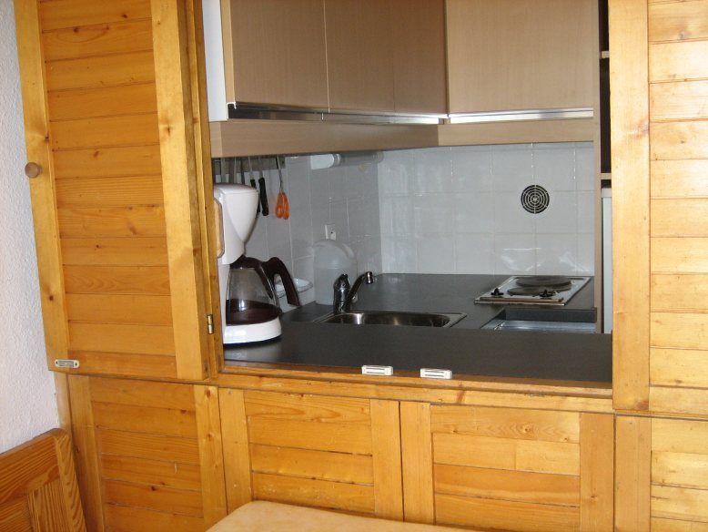 Gesloten keuken  Appartement 1629 Les Menuires