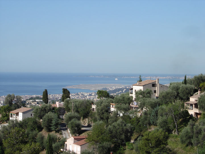 Uitzicht vanaf het terras  Appartement 19057 Nice
