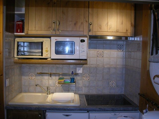 Open keuken  Studio 211 Les Arcs