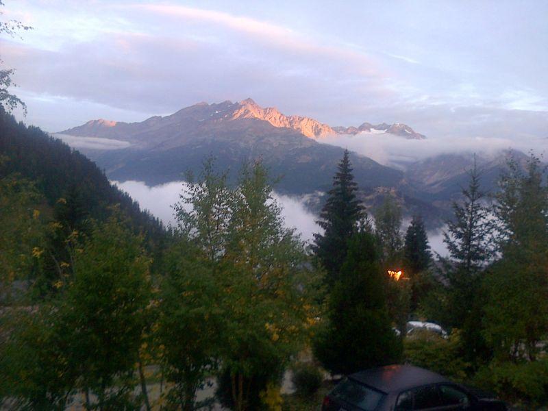 Uitzicht vanaf de woning  Chalet 3290 Valfréjus