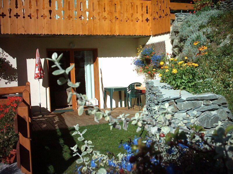 Tuin  Chalet 3291 Valfréjus