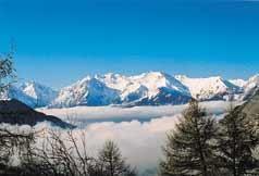 Uitzicht vanaf de woning  Appartement 50 Alpe d'Huez