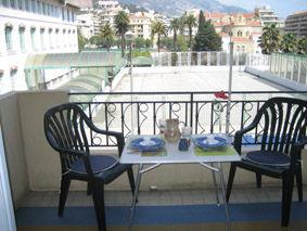 Uitzicht vanaf het terras  Appartement 5403 Menton