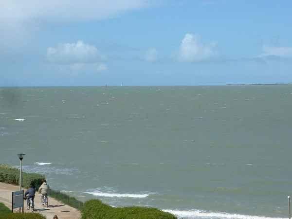 Uitzicht vanaf het terras  Appartement 7060 La Rochelle