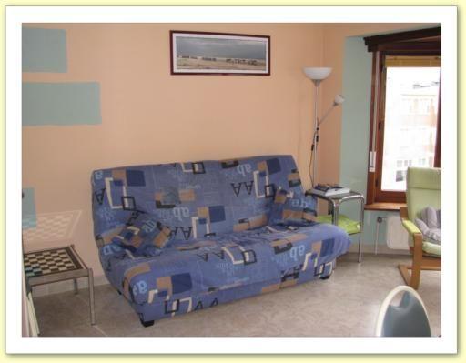 Woonkamer  Appartement 9556 De Panne