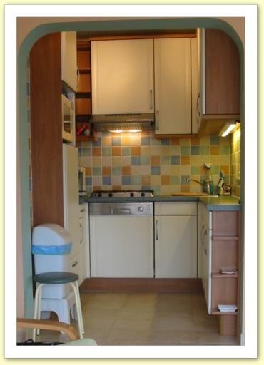 Gesloten keuken  Appartement 9556 De Panne