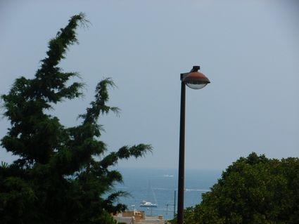 Uitzicht vanaf het balkon  Studio 78231 Antibes