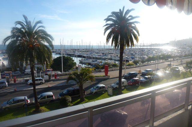 Uitzicht vanaf het terras  Studio 92071 Menton
