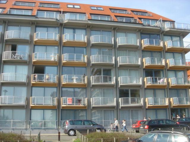 Ingang  Appartement 81674 Nieuwpoort