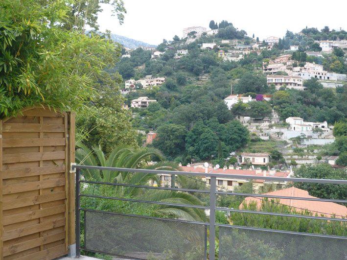 Uitzicht vanaf het terras  Appartement 96725 Menton