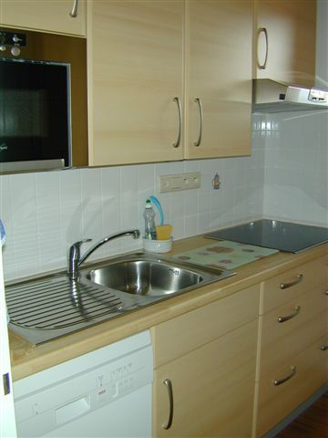 Gesloten keuken  Appartement 64 Alpe d'Huez