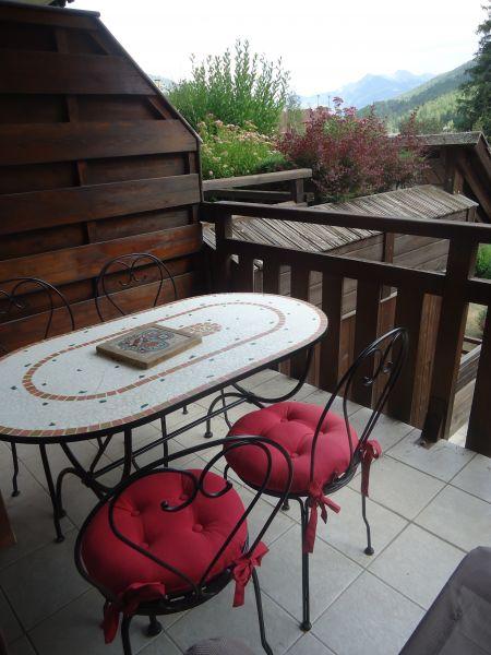 Uitzicht vanaf het terras  Appartement 106688 Serre Chevalier