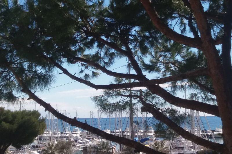 Uitzicht vanaf het balkon  Appartement 117475 Nice
