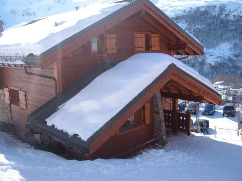 Het aanzicht van de woning  Chalet 73309 Les Menuires