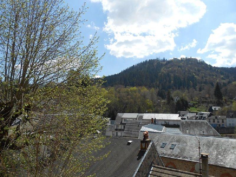 Uitzicht vanaf het balkon  Appartement 115202 La Bourboule