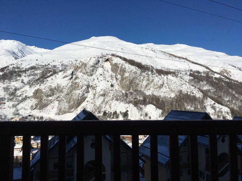 Uitzicht vanaf de woning  Appartement 117722 Valloire
