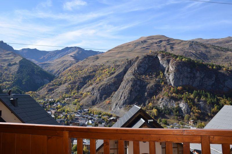 Uitzicht vanaf het balkon  Appartement 117722 Valloire