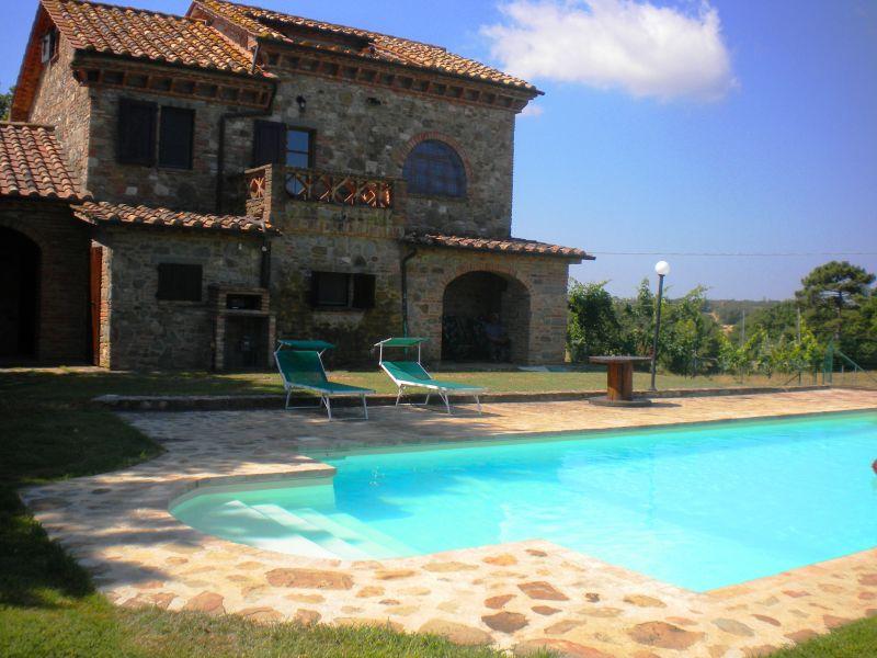 Zwembad  Huis 87280 Cortona