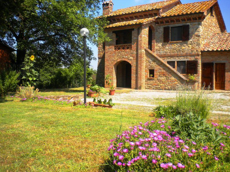 Het aanzicht van de woning  Huis 87280 Cortona