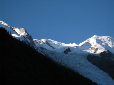 Uitzicht vanaf de woning  Appartement 92446 Chamonix Mont-Blanc