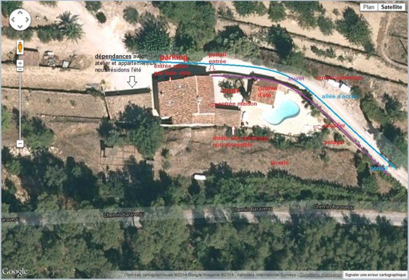 Het aanzicht van de woning  Villa 94916 La Cadière d'Azur
