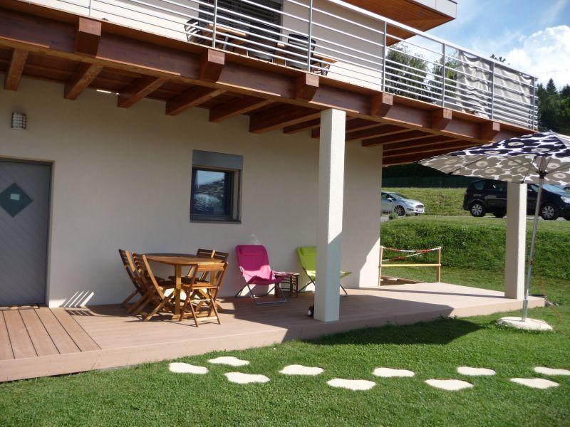Uitzicht vanaf het terras  Appartement 106719 Evian les Bains