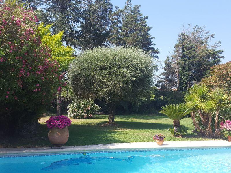 Tuin  Appartement 93460 Saint Tropez