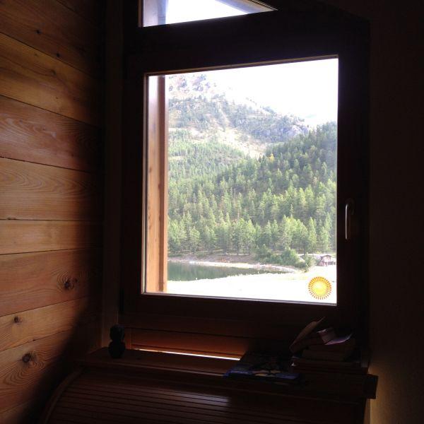 Uitzicht vanaf de woning  Appartement 100869 Montgenevre