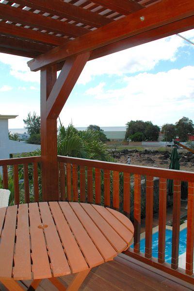 Uitzicht vanaf het balkon  Villa 105203 Tamarin