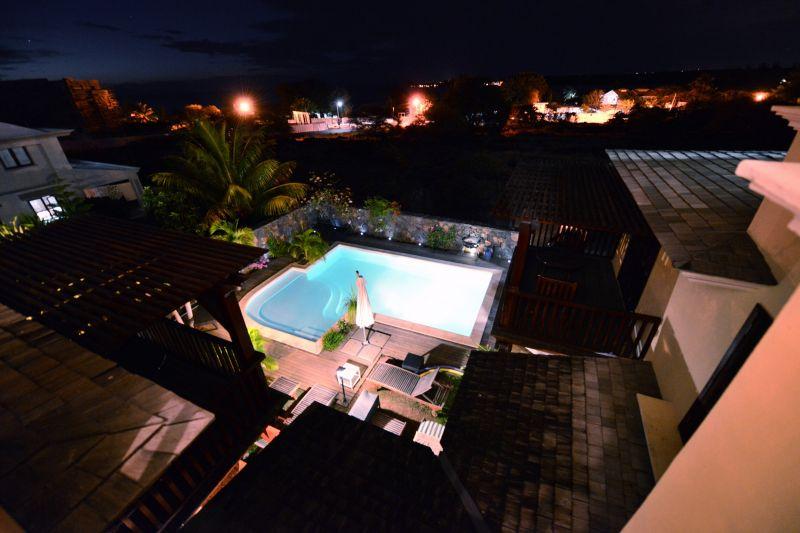Uitzicht vanaf het terras  Villa 105203 Tamarin