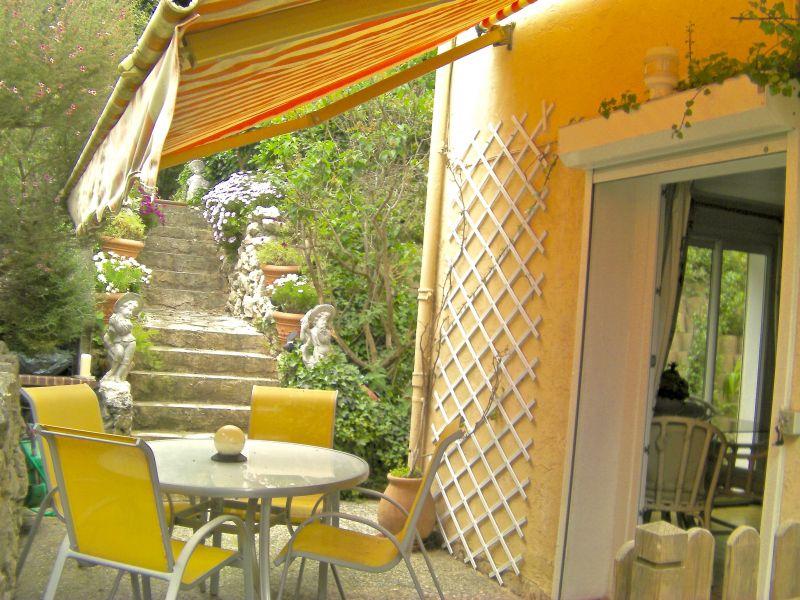 Uitzicht vanaf het terras  Appartement 106323 Antibes