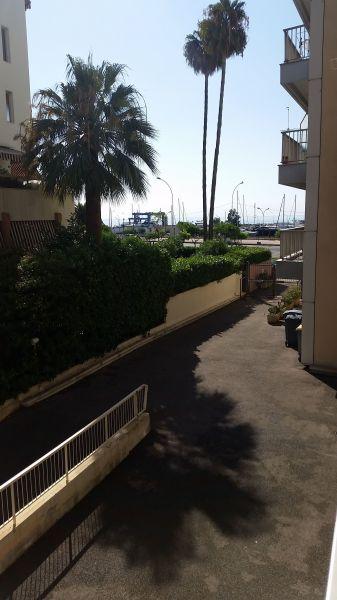 Uitzicht vanaf het balkon  Studio 117489 Menton