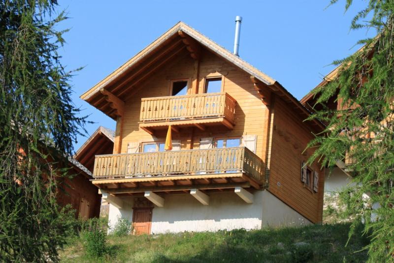 Het aanzicht van de woning  Chalet 69489 La joue du Loup