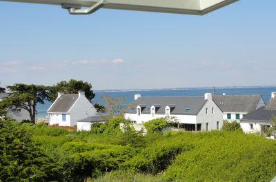 Uitzicht vanaf de woning  Villa 81399 Saint Pierre Quiberon