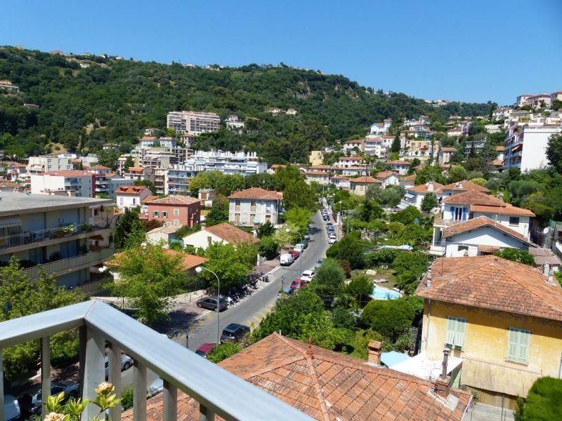Uitzicht vanaf het terras  Appartement 93560 Nice