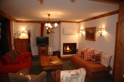 Woonkamer  Appartement 1090 Courchevel