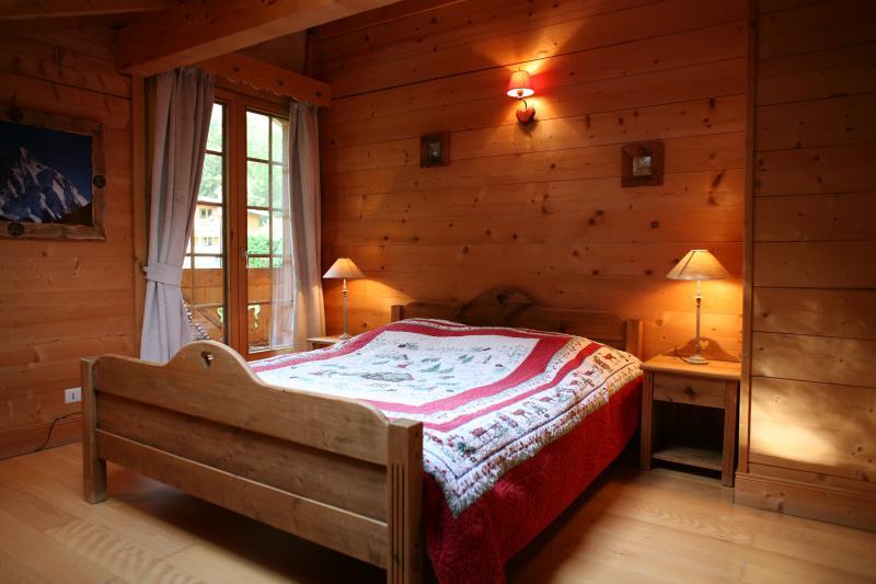 slaapkamer 1  Chalet 1412 Chamonix Mont-Blanc