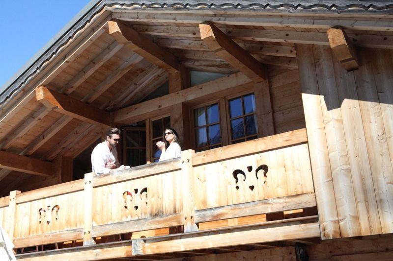 Balkon  Chalet 1412 Chamonix Mont-Blanc