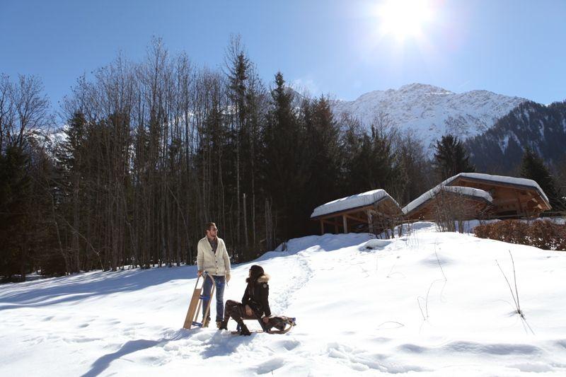 Het aanzicht van de woning  Chalet 1412 Chamonix Mont-Blanc
