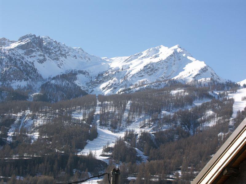 Uitzicht vanaf de woning  Appartement 14750 Serre Chevalier
