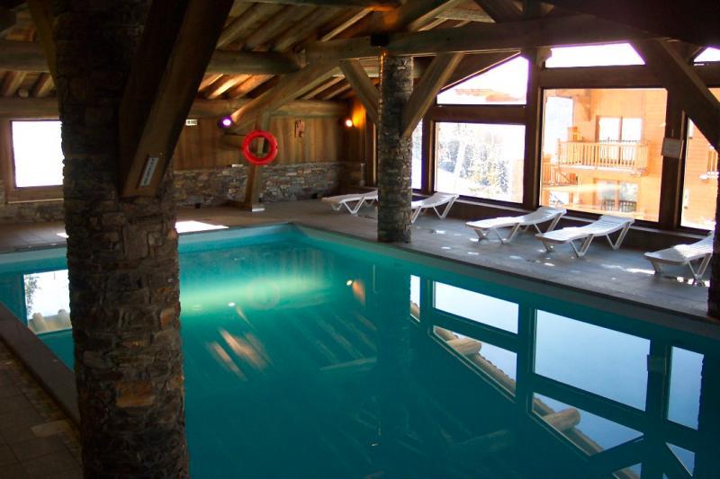 Zwembad  Appartement 148 Les Arcs