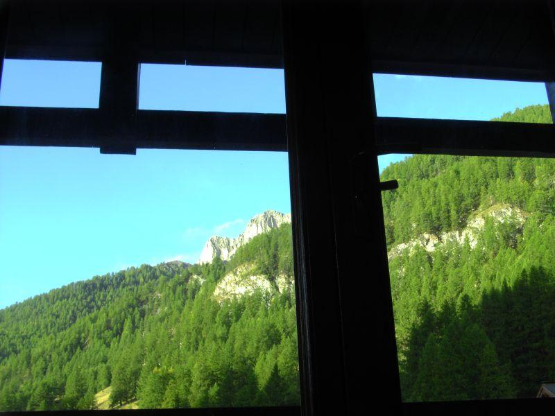 Uitzicht vanaf het terras  Studio 1577 Molines Saint-Véran