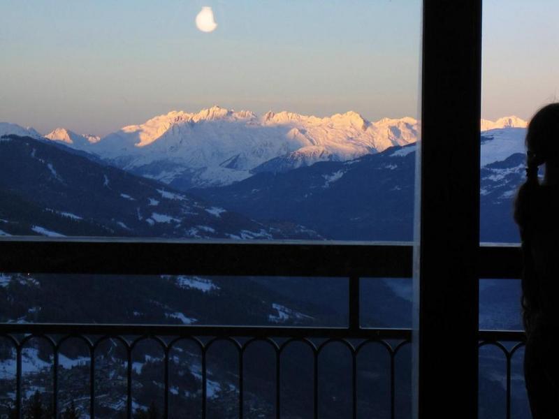 Uitzicht vanaf het balkon  Appartement 28016 Les Arcs