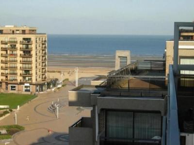 Uitzicht vanaf het terras  Studio 28374 De Panne