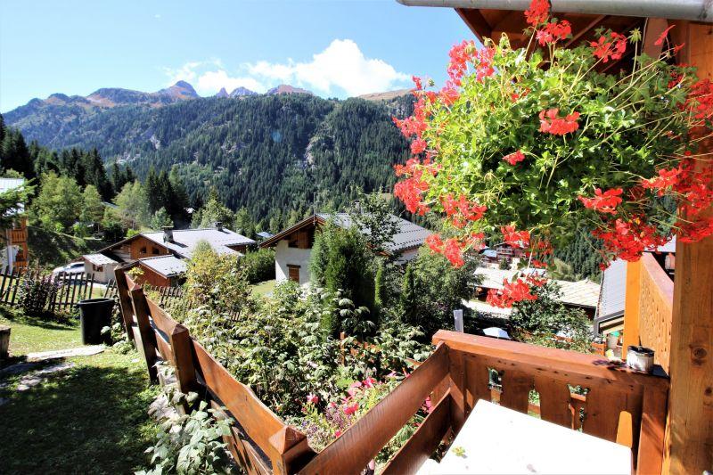 Uitzicht vanaf het terras  Chalet 3290 Valfréjus