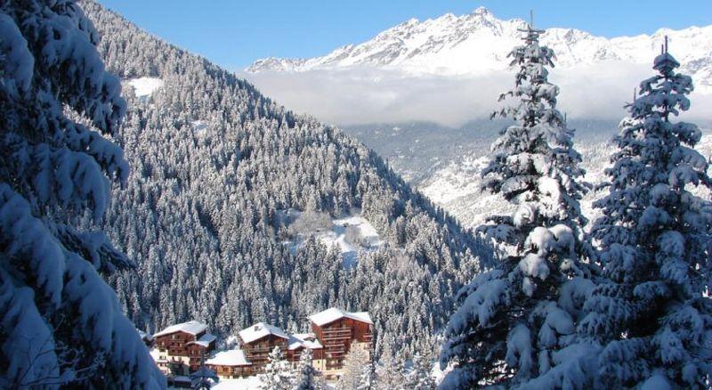 Zicht op de omgeving  Chalet 3291 Valfréjus