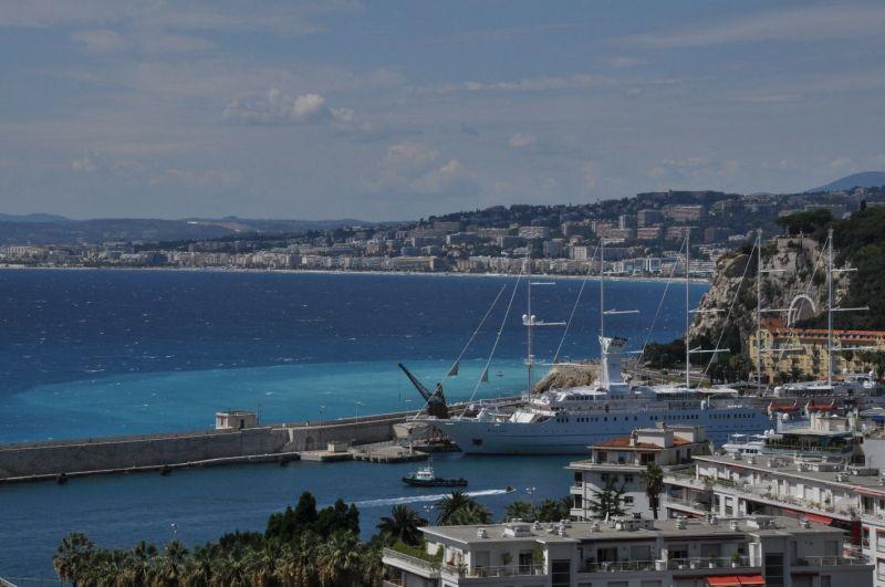 Uitzicht vanaf het terras  Appartement 32914 Nice
