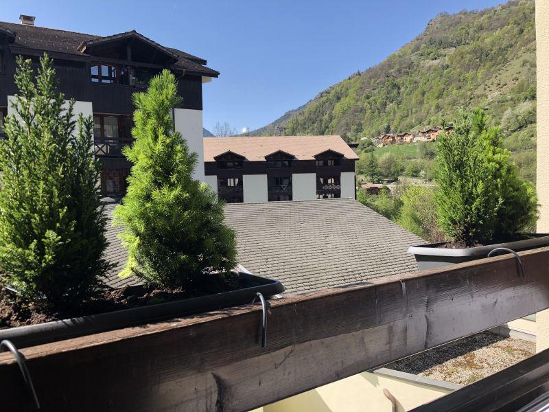 Uitzicht vanaf het terras  Studio 51116 Méribel