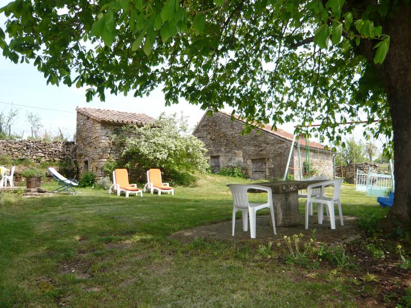 Tuin  Vakantiehuis 51135 Saint-Cirq-Lapopie